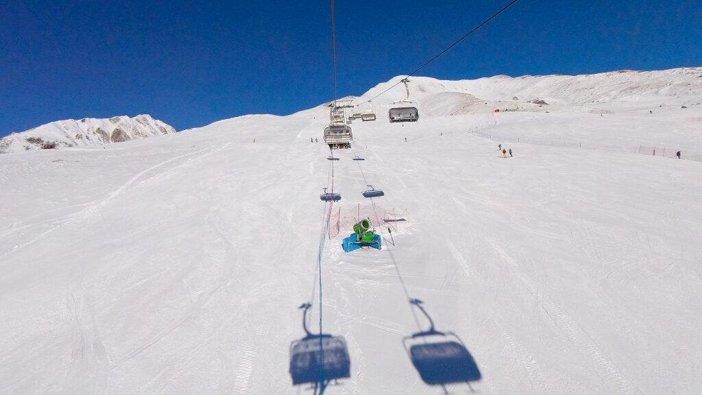 ELSKERSKI - Passo Tonale - bred blå pist